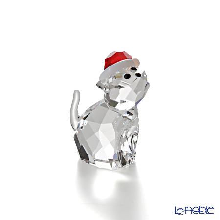 Swarovski Cat with Santa's Hat SWV5-060-448