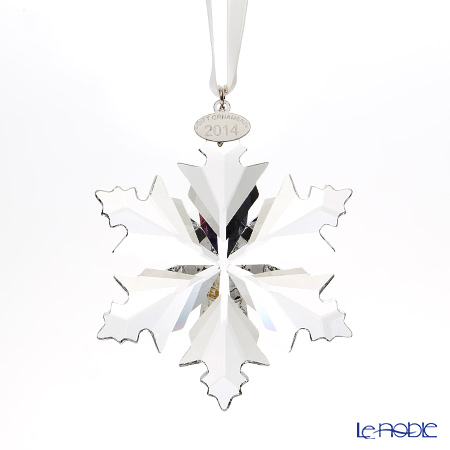 Swarovski Christmas Tree Gift Ornament 2014 Snowflake SWV5-063-337 [Limited Edition in 2014]