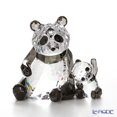 スワロフスキー パンダの親子 SWV5-063-690