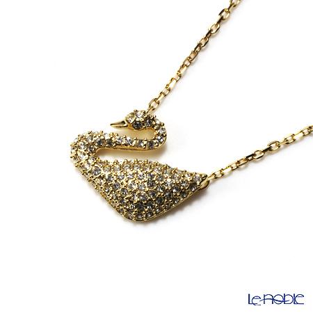 スワロフスキー ネックレス スワン(ゴールド) SW5063921