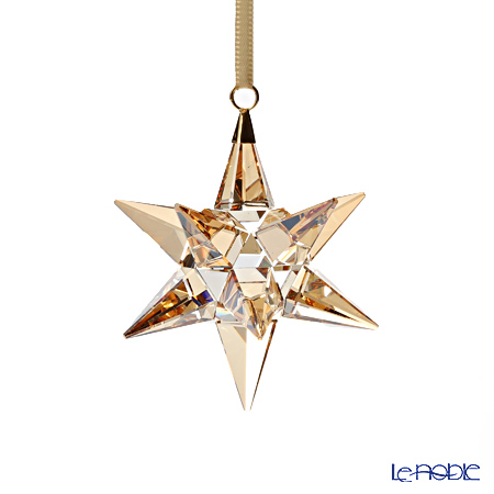 Swarovski Star Ornament, Golden Shadow SWV5-064-260