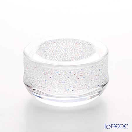 スワロフスキー Shimmer ティーライトキャンドルホルダー(クリア)SWV5-108-868