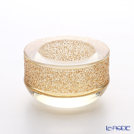 Swarovski Shimmer Tea Light, Gold Tone SWV5-108-877