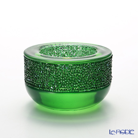 Swarovski Shimmer Tea Light, Green SWV5-108-880