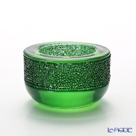 スワロフスキー Shimmer ティーライトキャンドルホルダー(グリーン) SWV5-108-880