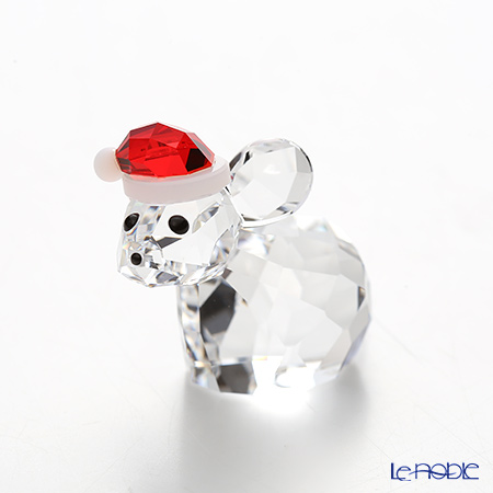 Swarovski Mouse with Santa's Hat SWV5-135-858
