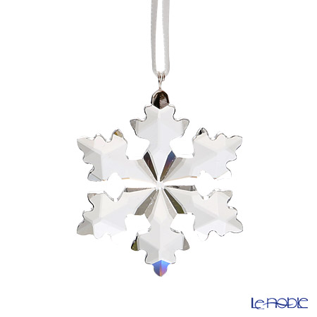 Swarovski Little Snowflake Ornament, Annual Edition 2016 SWV5-180-211