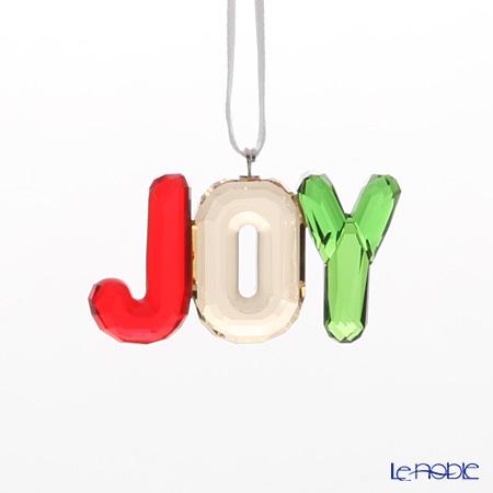 スワロフスキー クリスマス JOY オーナメントSWV5-223-255