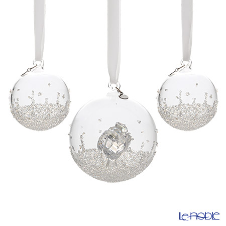 Swarovski Christmas Ball Ornament Set 2016 SWV5-223-282