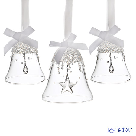 Swarovski Christmas Bell Ornament Set 2016 SWV5-223-283 [Limited Edition]