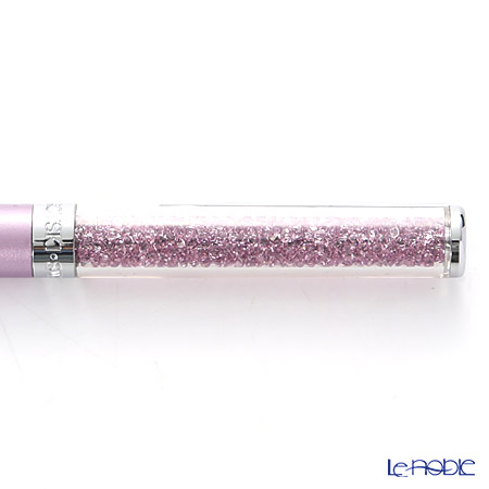 スワロフスキー Crystalline ボールペン(ライトライラック)SWV5-224-388