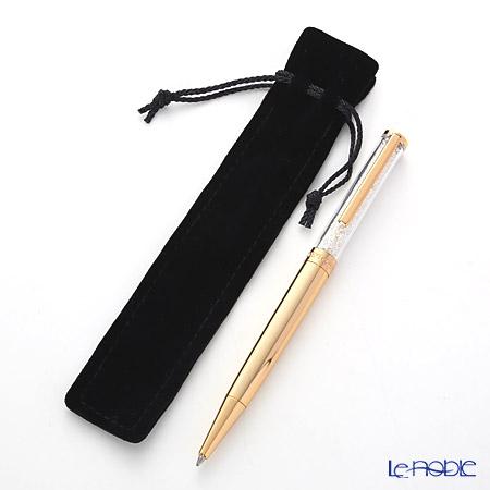 スワロフスキー Crystalline ボールペン(ゴールドトーン)SWV5-224-389