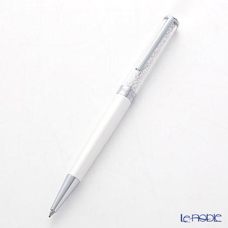 スワロフスキー Crystalline ボールペン(ホワイト)SWV5-224-392