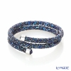 Swarovski Bangle Crystal dust double (blue) SW5237752