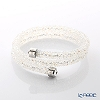 Swarovski Bangle Crystal dust double (white) m/s SW5237754