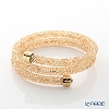 Swarovski Bangle Crystal dust double (gold) m/s SW5237763