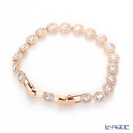 Swarovski 'Angelic / White' Rose Gold SW5240513 Bracelet 19cm