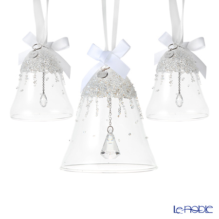 Swarovski Christmas Bell Ornament Set, Annual Edition 2017 SWV5-268-013 17AW