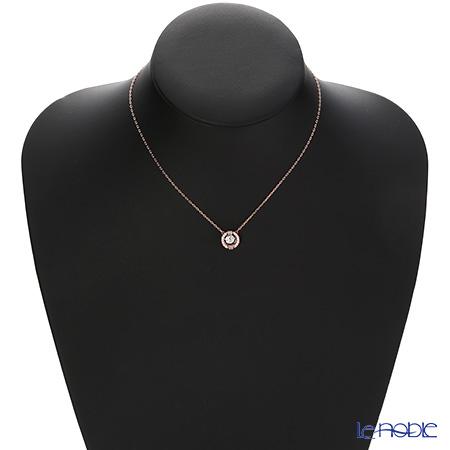 Swarovski 'Sparkling Dance - Round / White' Rose Gold SW5272364 Necklace 42cm