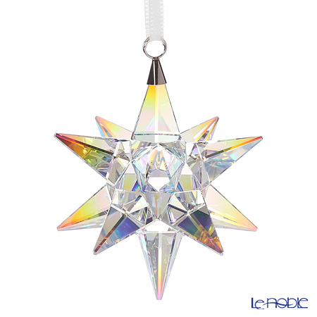 Swarovski Star Ornament, Crystal AB SWV5-283-480 17AW