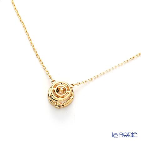 Swarovski 'Sparkling Dance - Round / White' Gold SW5284186 Necklace 42cm