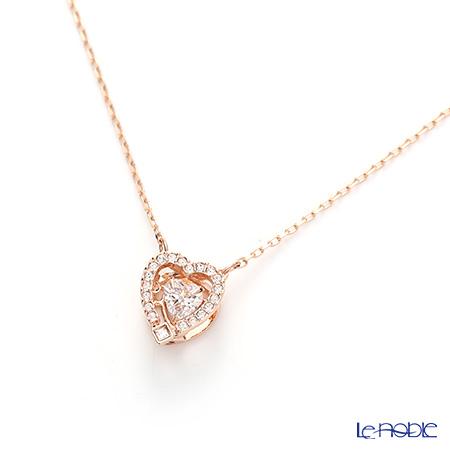 Swarovski necklace sparkling dancing heart (rose gold) SW5284188