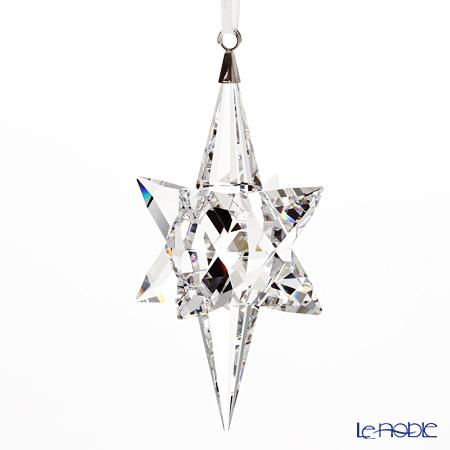 Swarovski 'Christmas - Silver Star' SWV5287019 [2017] Ornament H8cm (L)