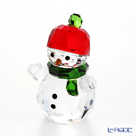 Swarovski Snowman with Red hat SWV5-288-205 17AW