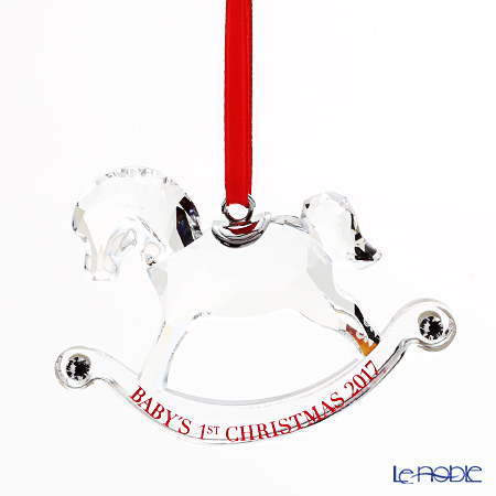 スワロフスキー ベビーファースト クリスマスオーナメント SWV5-297-124 17AW 2017年度限定生産品