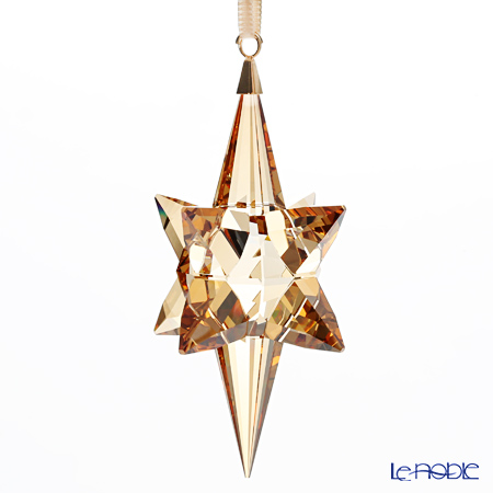 Swarovski Star Ornament, gold tone, large SWV5-301-220 17AW