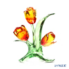 Swarovski 'Tulips (Red & Yellow Flower)' SWV5302530 [2018] Decoration Object H13cm