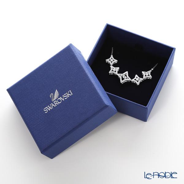 Swarovski 'Sparkling Dance - Star / White' Rhodium SW5349663 Necklace 44cm