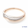 Swarovski Bangle hilly (rose gold) size M SW5350668 17AW