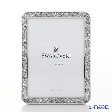 Swarovski 'Minera - Silver Tone / White' SWV5351296 [2017] Picture Frame 15.5x19.5cm