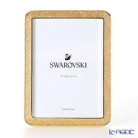 スワロフスキー MINERA フォトフレーム(ゴールド) SWV5-351-297 17AW