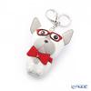 Swarovski 'Bruno (Dog) / Red Bow' SW5352911 [2017] Bag Charm