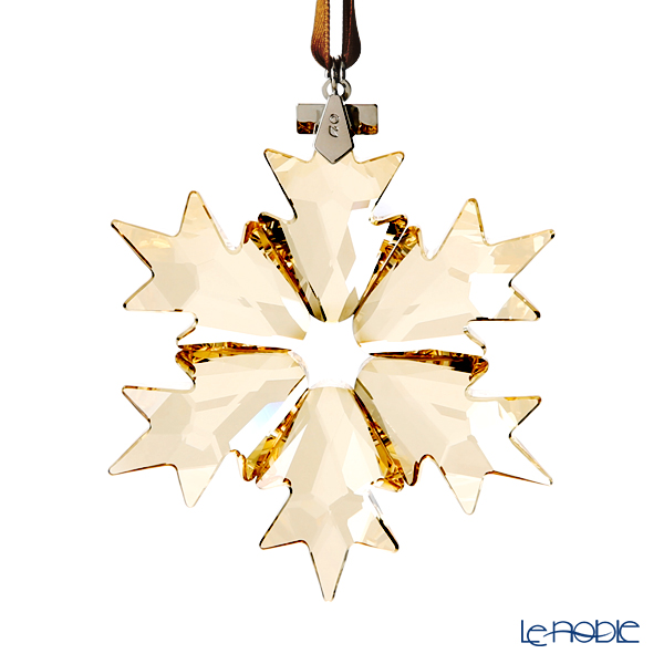 Swarovski Christmas Ornament, Annual Edition 2018, gold SWV5-357-982 18AW [Limited Edition in 2018]