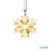 Swarovski little snowflake ornament gold SWV5-357-986 18AW (2018 year limited edition)