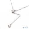 Swarovski'Attract / White' Rhodium SW5367969 [2018] Y Necklace 44cm