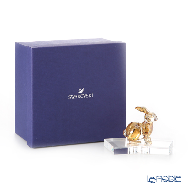 Swarovski 'Chinese Zodiac Collection - Rabbit (Hare)' Gold SWV5374951 [2018] Decoration Object H8.5cm