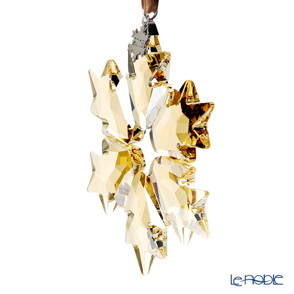 Swarovski Christmas Ornament 2018, large, gold SWV5-376-665 18AW [Limited Edition in 2018]