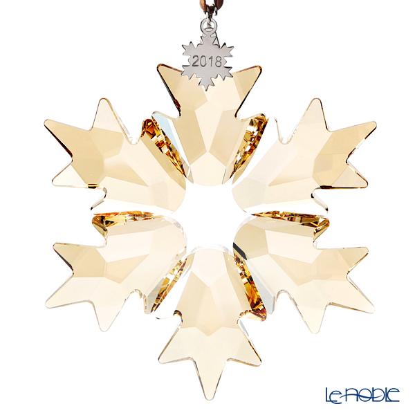 スワロフスキー クリスマスオーナメント ゴールド SWV5-376-665 18AW(2018年度限定生産品)L