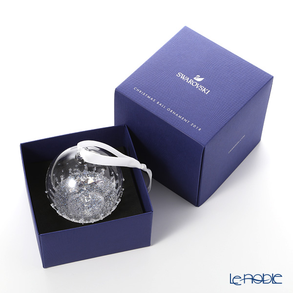 Swarovski 'Christmas Ball - Shooting Star' SWV5377678 [Annual Edition 2018] Ornament 8cm