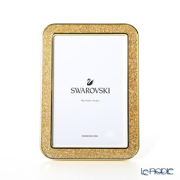 スワロフスキー Minera フォトフレーム(S) Gold Tone SWV5-379-164 18SS