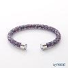 Swarovski 'Crystaldust - Cuff / Purple' Stainless Steel W5385820 [2018] Bangle