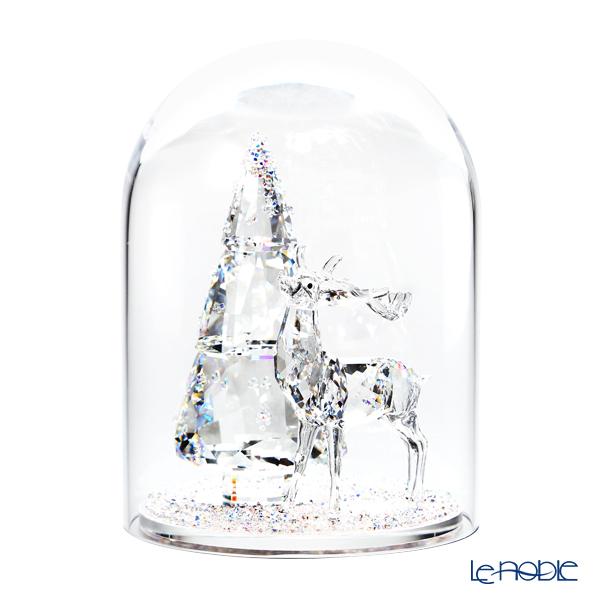 Swarovski 'Chirstmas - Festive Tree & Reindeer' SWV5403173 [2018] Bell Jar 11.5xH15.5cm