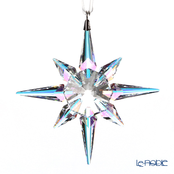 Swarovski 'Christmas - Star (Aurore Boreale)' SWV5403200 [2018] Ornament 10.5cm