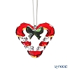 Swarovski 'Christmas - Candy Kane Heart' SWV5403314 [2019] Ornament 5cm