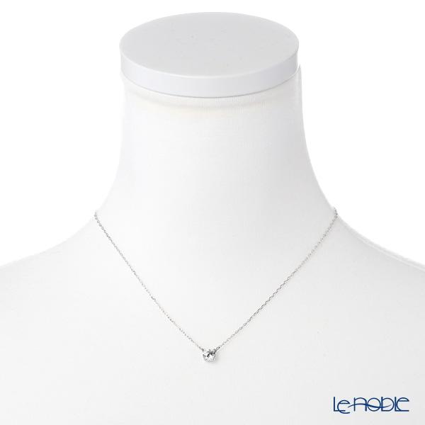 Swarovski 'Attract Trilogy Round / White' Rhodium SW5408442 [2018] Necklace