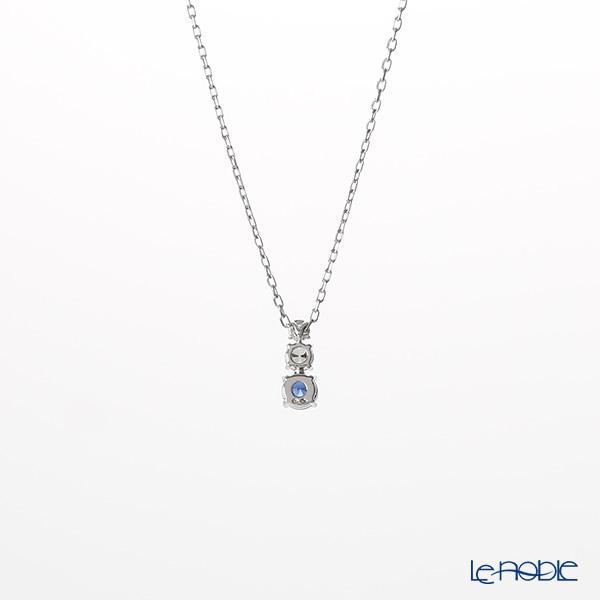 Swarovski 'Attract Trilogy Round / Blue & White' Rhodium SW5416156 [2018] Pendant 44cm